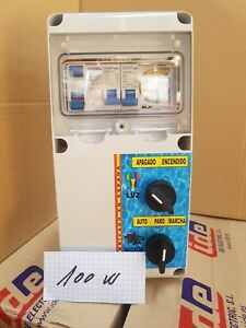 Cuadro-electrico-para-Piscina-con-Transformador-AC-100w