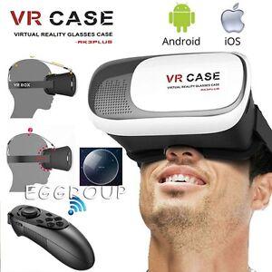 Caso Universal Vr Gafas 3d Auricular Caja Del Juego Gamepad Para