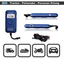 GPS TRACKER GPRS PEILSENDER SMS ORTUNG ÜBERWACHUNG AUTO LKW MOTORRAD QUAD BOOT