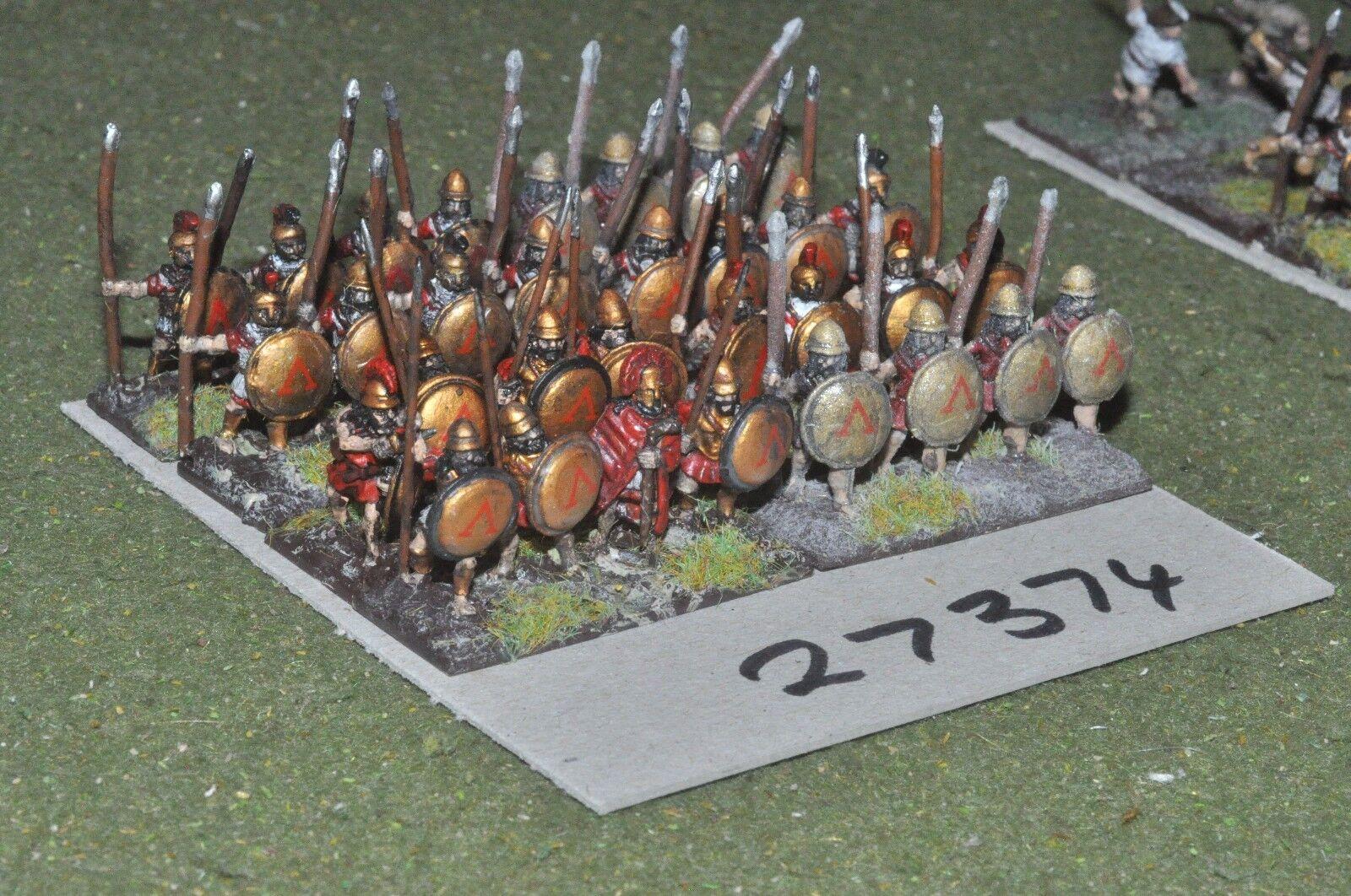 15mm classical   greek - hoplites 32 figures - inf (27374)