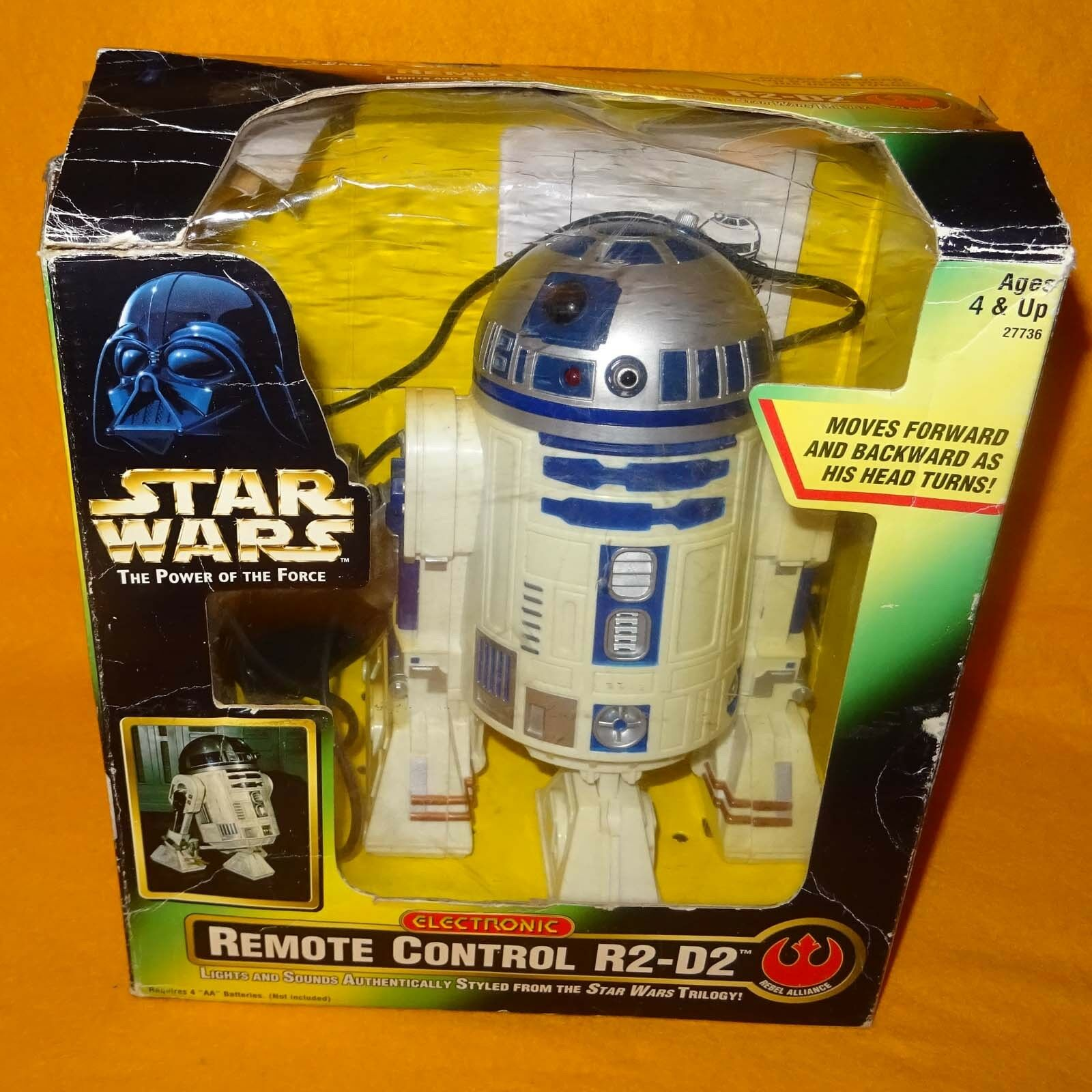 HASBRO KENNER STAR WARS POWER OF THE FORCE POTF ELECTRONIC REMOTE CONTROL R2-D2