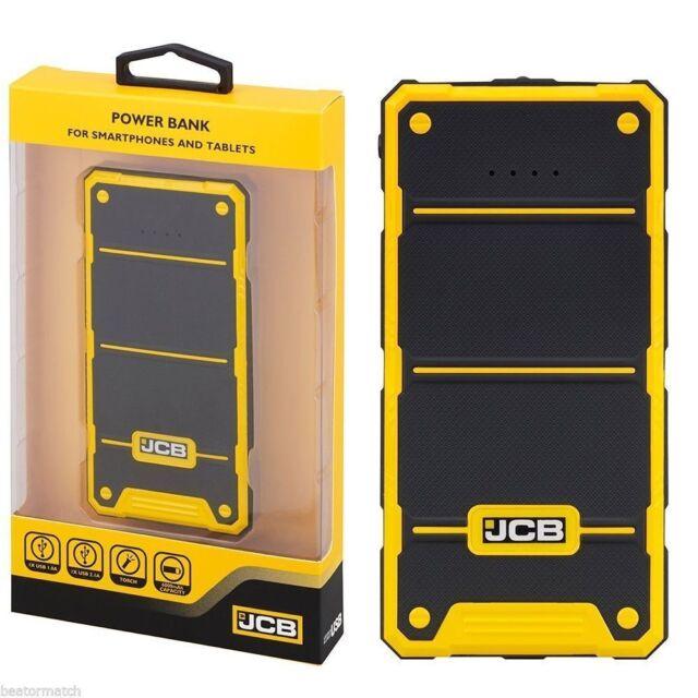 Jcb 6000 Mah Bank External Battery Iphone Ipad 1 0a 2 1a Led Torch