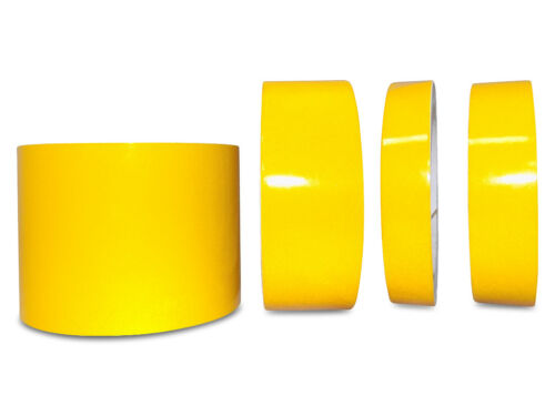 x 30 ft. Yellow Engineer Grade Retro Reflective Pinstripe Tape 3 in