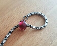 Extremely rare NEW TROLLBEADS RED - PINK PRISM 60187