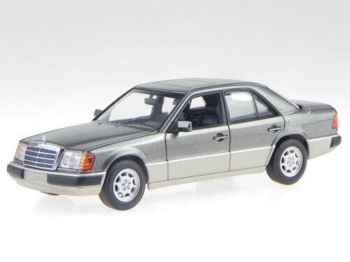 coche en miniatura 940037004 Maxichamps 1:43 Mercedes W124 230E 1991 gris met