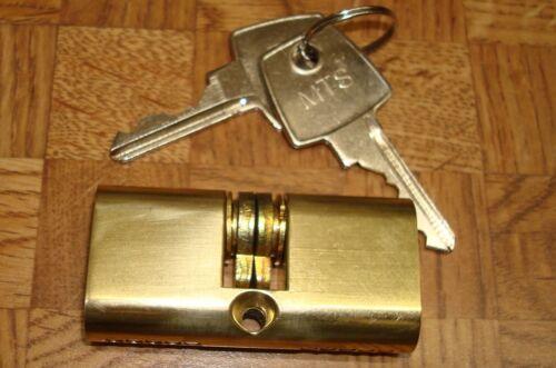 Papaiz Bright Brass C-400//55KA5 Keyed Alike Double Cylinder PAPC400//55KA5 for323