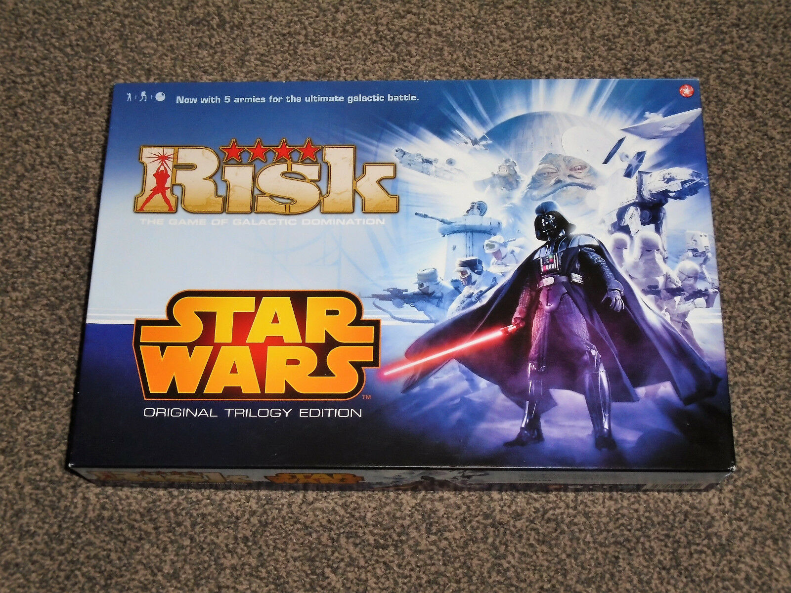 STAR WARS RISK GAME   RARE ORIGINAL TRILOGY 2013 EDITION - IN VGC (FREE UK P&P)