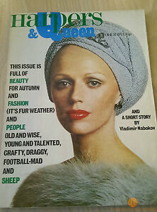 Harper-039-s-And-Queen-Vintage-Fashion-Magazine-October-1973-UK-Edition
