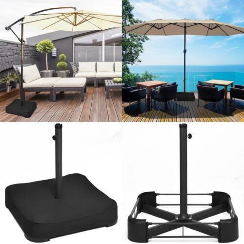 Patio marché Offset stand parapluie Support Rempli des sacs de sable 220 lb environ 99.79 kg