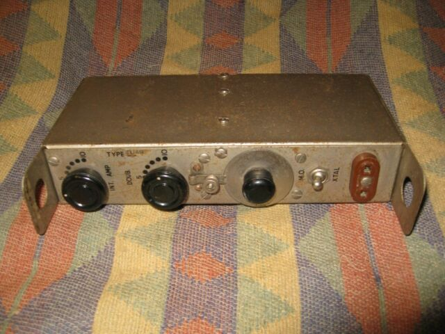 Hallicrafters Tu 54 20m Tuning Unit For Bc 610 Hf Transmitter Ham Radio Tu54 For Sale Online Ebay