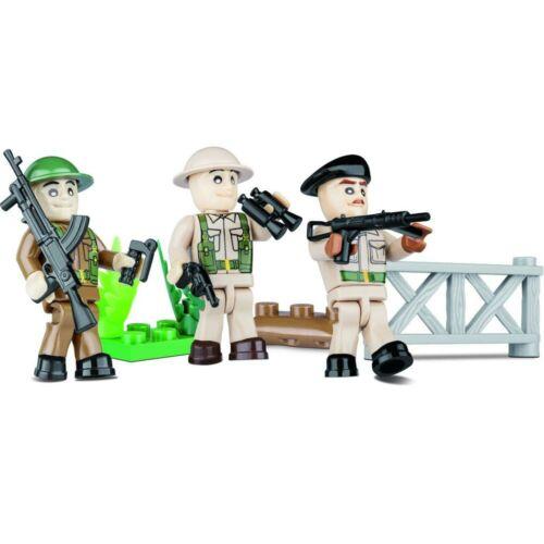 COBI british WWII SOLDAT figures 2028 25pcs WW2