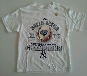 100/% Cotton New York Yankees Majestic Youth T-Shirt