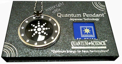 New Scalar Energy Pendant Quantum Science Japanese Technology Healing Stone Lava