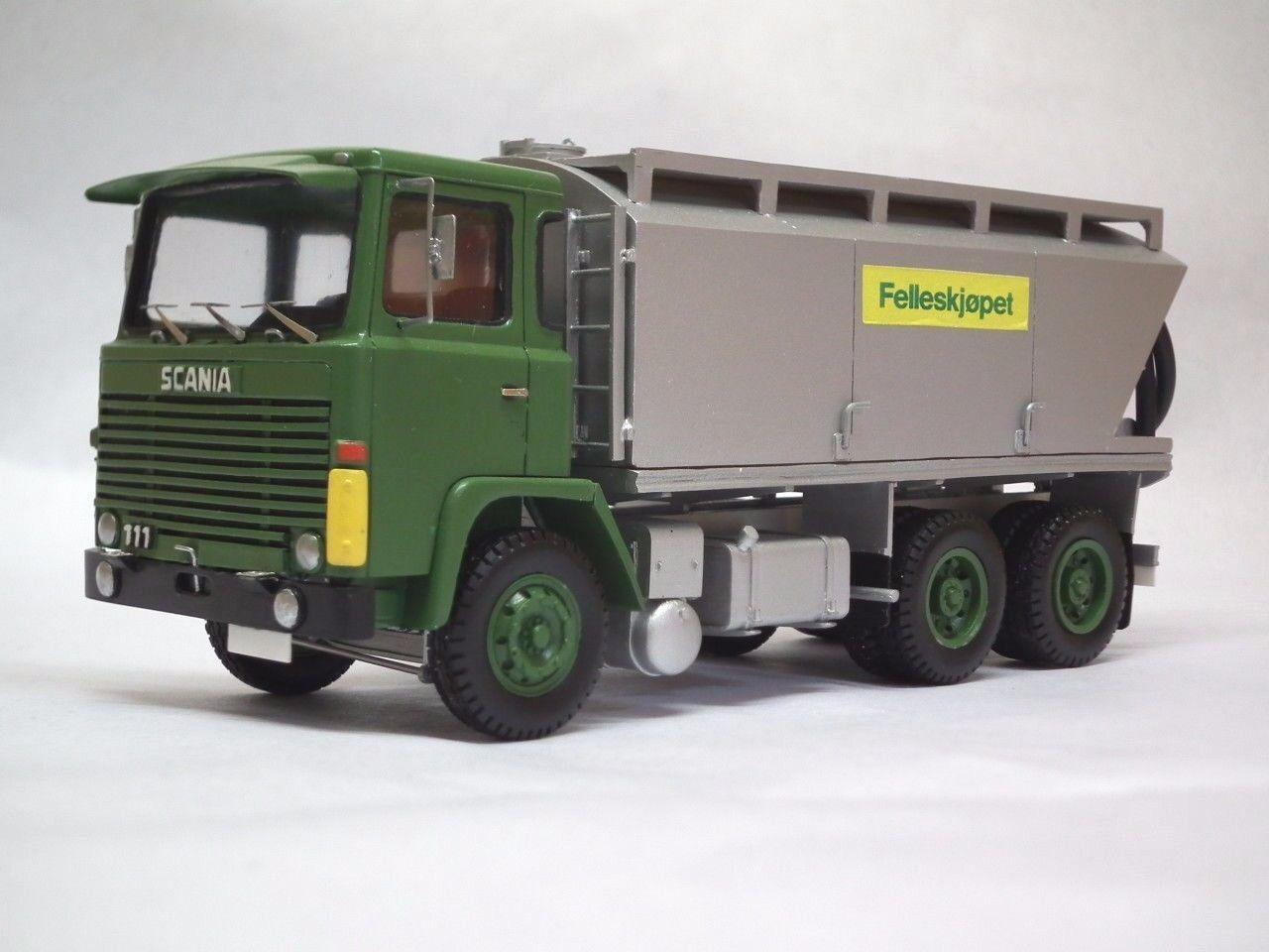 1 50 Scania 111 kraftfor-Handmade Resin Model