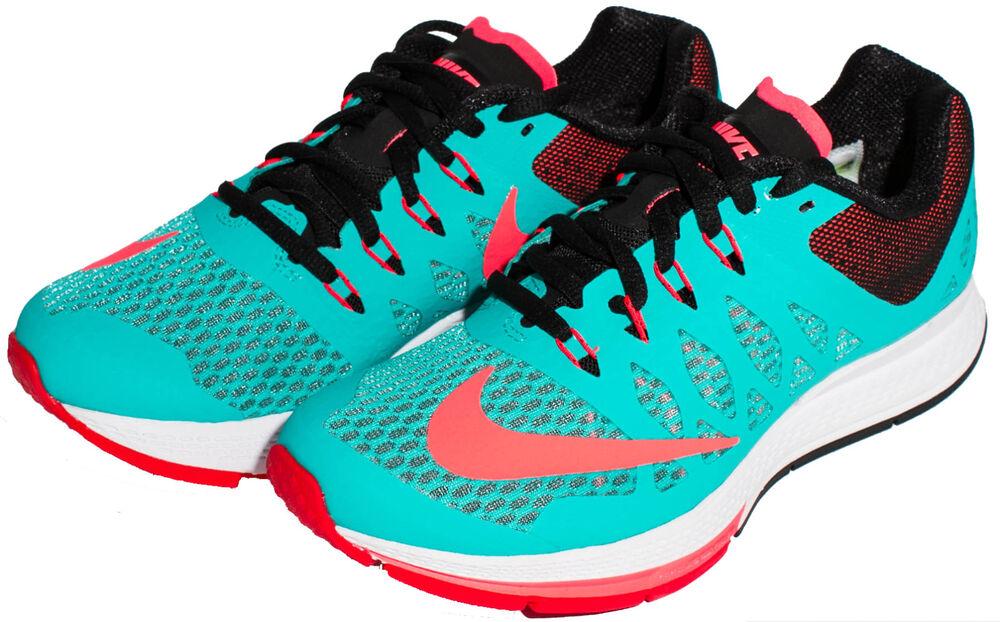 Nike Femme Air Zoom Elite 7 fonctionnement chaussures Hyper Jade/Punch 654444-300 Sz 5-8.5