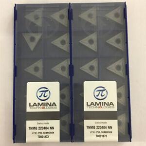 LAMINA TNMG220404 NN LT10 For Steel Carbide Inserts 10pcs