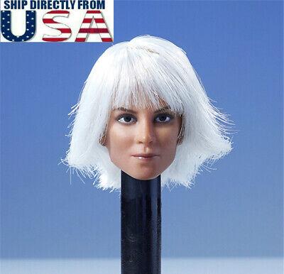 """1//6 Halle Berry Storm Head Sculpt X-MEN 12/"""" figure féminine PHICEN Hot Toys ❶ USA ❶"""