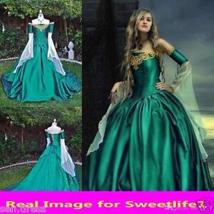 Vintage Medieval Renaissance Ball Gown Evening Princess