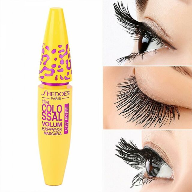 Mascara Colossal Makeup Waterproof Eyelashes Oil Smudge Resistant