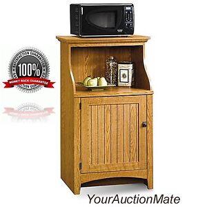 microwave cart kitchen stand with drawer storage toaster oven utensils canniste. Black Bedroom Furniture Sets. Home Design Ideas
