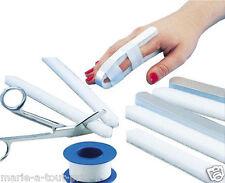 attelle de doigt en aluminium + mousse a plier et couper soi-même atelle poignet