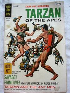 Edgar Rice Burroughs' Tarzan of the Apes #174 (Feb 1968, Gold Key Comics) VF 8