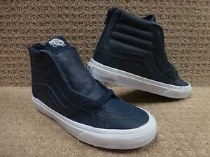 Sk8 hi Trwht Reissue Zapatos Cremallera Drsbls Lthr Hombre premium Vans nFBg46px