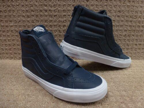 hi Drsbls Hombre Reissue Cremallera premium Zapatos Vans Sk8 Trwht Lthr dwIU0wq7x
