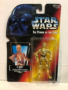 Star Wars Power of the Force C-3PO Figure Kenner Hasbro 1996
