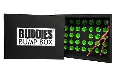 Buddies Bump Box CONE Filler Loads 34 Pre-Rolled 1 1//4 Size Raw Cones at Once