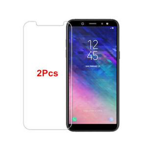 For-Samsung-Galaxy-J4-J6-J8-2018-9H-Tempered-Glass-Screen-Protector-Film-2Pcs