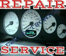 CHRYSLER INSTRUMENT CLUSTER GAUGE SPEEDOMETER REPAIR SERVICE 1995 TO 2002