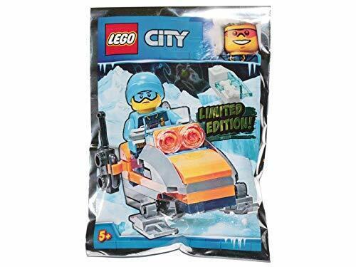LEGO City Arctic Explorer with Snowmobile Foil Pack Set 951810