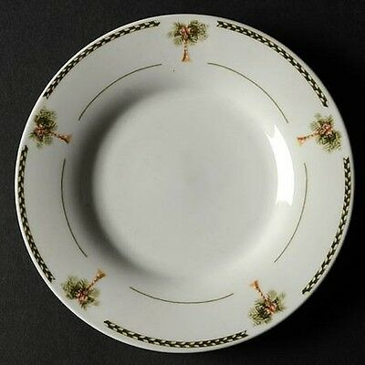 4 GIBSON BAHAMA SAUCERS / BREAD PLATES PALM TREE & Palm Tree Kitchen Decor~ collection on eBay!