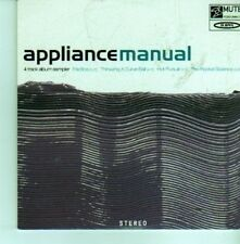 (CX791) Appliance, Manual - 1999 DJ CD