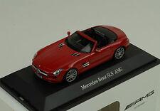 SCHUCO Mercedes-Benz SLS AMG Roadster Red Metallic 1:43 Dealer **Nice**