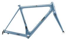 Telaio+forcella bicicletta Road Race CINELLI LASER MIA Azzurro Laser 2015