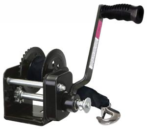 SeaSense 800LB EDC Brake Winch with Strap