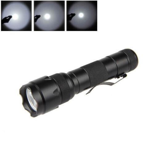 3PCS UltraFire Flashlight WF-502B CREE T6 LED 1500LM Torch 18650 Battery Camping
