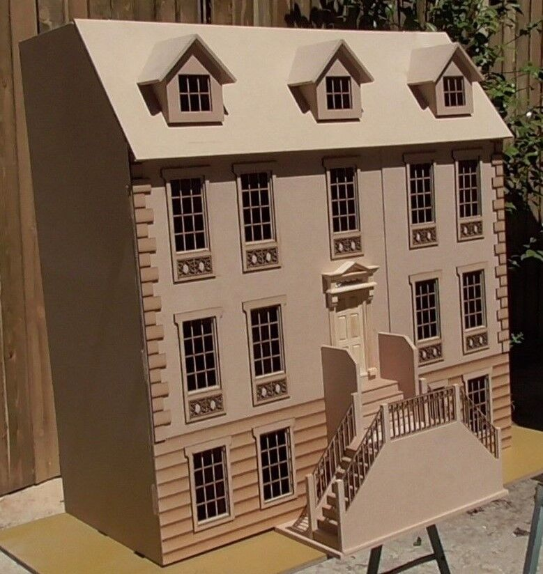 Dolls House 1/12th The Templeton Manor KIT Deluxe or Standard 3ft wide