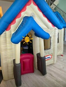 Little Tikes Victorian Blow Up House Ebay