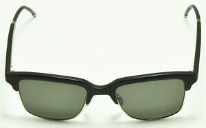 2b205824344 Thom Browne TB-709-AT-BLK-SLV Black Silver Frame Sunglasses 51 ...