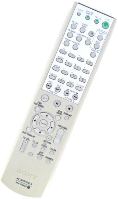 Véritable Sony RM-SS220 DVD Home Cinéma Télécommande pour DAV-SB100 HCD-SB100