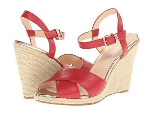 517ac845a23 NEW - MSRP  198 - COLE HAAN Women s HART WEDGE Espadrille SANDAL ...