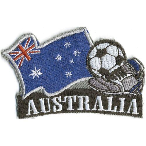 un écusson application Aufnähwappen Armoiries 8x5 CM Football ☆ Australie ☆ 77905