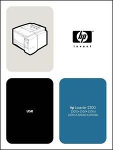 hp laserjet 2300 laser printer 196 page user guide manual paper not rh ebay com hp t2300 manual hp 2300n manual