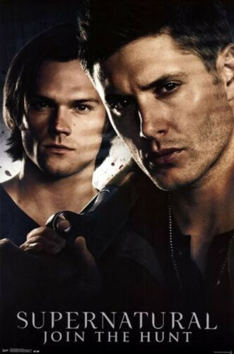 Sam Dean Winchester SUPERNATURAL ~ BROTHERS DUO ~ 22x34 TV POSTER NEW//ROLLED