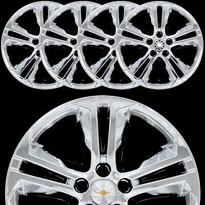 """4 New for 2010-2016 Chevy Cruze 16/"""" Bolt On Hub Caps Full Rim Skins Wheel Covers"""
