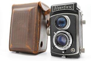 [EXC+5 w/ Case] Alpenflex Model I 6x6 TLR Film Camera / Hachiyo 75mm f/3.5 Japan