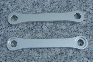 Silver 1987-2007 For Kawasaki KL KLR 650 Black Motorcycle Lowering Links Kit